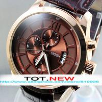 2014 new Black Leather strap watches men luxury brand women dress watches waterproof Quartz sport Wristwatch military watch