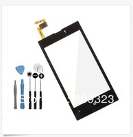 100% New For Nokia Lumia 520 Touch Screen Digitizercome with glue adhestive  20pcs/1lot +2 sets free open tools free shipping