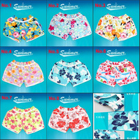 MOQ 1pcs Free Shipping  Women lady Beach Pants summer Short Flower Shorts Swimming Girls fashion Shorts