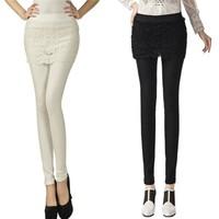 Skirt pants Leggings fake two -piece spring and summer hakama hakama skirt + leggings Slim thin