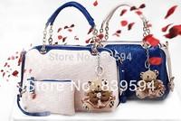 2014 new retro Korean casual shoulder bag Mobile Messenger bag fashionable women