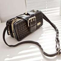 Small mng women's knitted handbag mini cross-body bag female handbag cross-body mini mobile phone bag