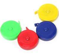 Cheap Household 6pcs 60 inch/150cm Mini Tape Measurment Sewing Tailor Tape Measure Multicolor Measuring
