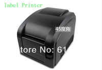 Free by DHL 1 PCS Direct Thermal Line 3~5Inch/Sec USB port Barcode Label Printer, thermal barcode printer