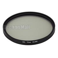 77 mm 77mm CPL Filter PL-CIR C-PL Circular Polarizing for DSLR Camera Nikon Canon Sony Olympus, FREE SHIPPING!
