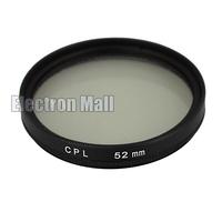 52 mm 52mm CPL Filter Circular Polarizing C-PL PL-CIR for Nikon 18-55 D3100 D3200 D5100 D5200 D7000 D7100 D90 ,FREE SHIPPING!