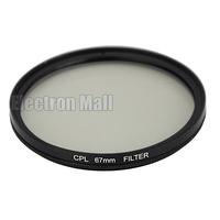 67 mm 67mm CPL Filter PL-CIR C-PL Circular Polarizing Lens Filter for DSLR Camera Nikon Canon Sony Olympus, FREE SHIPPING!