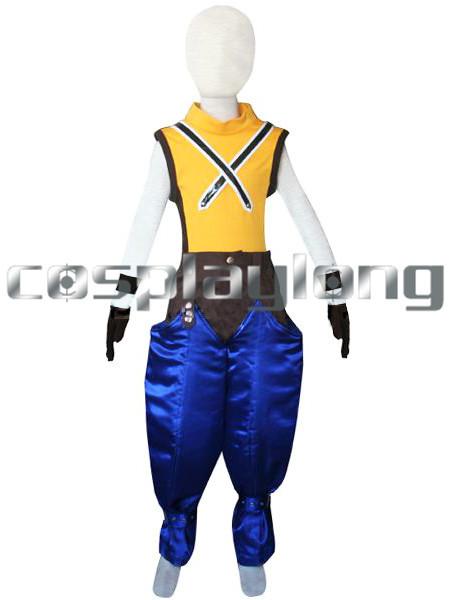 Free Shipping 2014 HOT SALE! Kingdom Hearts 1 Riku Kids Cosplay Costume Children Halloween Party Role-playing Costume(China (Mainland))