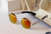 New 2014 Brand New Sunglasses Women Designer Beautiful Women Vintage Sunglass Oculos  Female Fashion Glasses Free Shipping