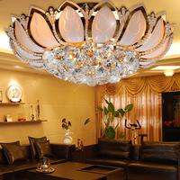 Bedroom crystal lamp lotus light restaurant hallway lights ceiling light study light lamps