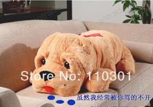 """Olhos 3.3 pés grandes cão de SHAR PEI amor laço gigante PLUSH 40 """" grátis frete(China (Mainland))"""