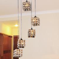 Brief k9 modern crystal pendant lamp art pendant light frhc 71