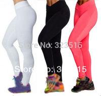 2014 New Arrival Women Compression V High Waist Pants Leggings Fitness YOGA Sports Pants