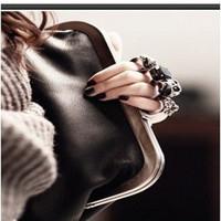 2014 brand Women Handbag clutch Messenger Bags women PU Leather handbag shoulder pouch new arrive messenger shoulder bag BK80768