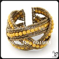 fashion jewellery Wholesale low price vintage lastest cross leather bracelet mix color&design
