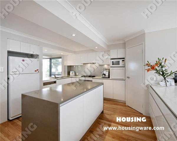 Popular Modern White Lacquer Kitchen cabinet(China (Mainland))