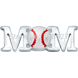 Free shipping! BASEBALL MOM Charms For Glass Lockets(China (Mainland))