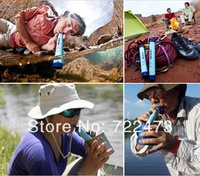 Camping equipment emergency preparedness Filter LifeStraw Camping&Hiking 0.05micron filtering accuracy Hiking Camping&Fishing
