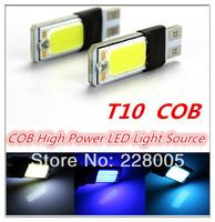 4cs/lot OB LED White Super Bright Car Light Canbus Error Free 194 168 2825 W5W Parking Backup Reverse For Brake Lamp