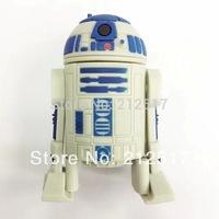 Free shipping 4GB 8GB 16GB 32GB star wars R2D2 USB flash drive R2-D2 Pen drive USB flash stick