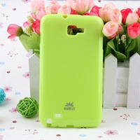 Special Offer TPU soft case cover for Samsung Note i9220 7color in stock