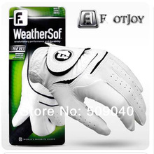 2014 Limited Yes White Golf Glove Men Left Breathable Soft Sheepskin Pu with Hot Deals(China (Mainland))