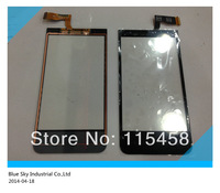1PCS Free Shipping 100% Original New Touch Screen For HTC Desire 300 Zara Mini Digitizer Touch Panel Front Panel
