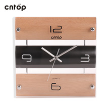 popular wooden wall clock