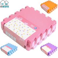 Foam mats child plain solid color puzzle floor mat patchwork 30x30
