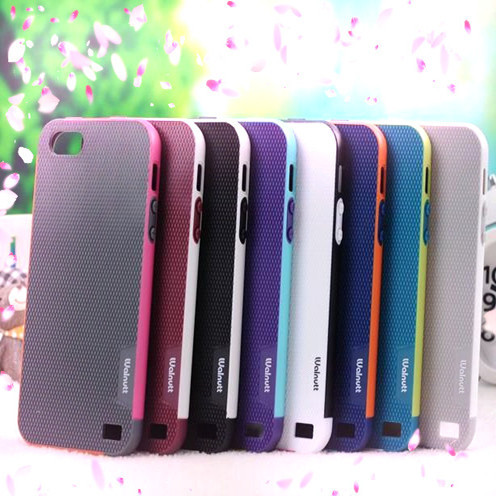 New Fashion 2 in1 PC+TPU Cell Phone Cases For iphone 5 5S Cover Soft Shell Hard Silicone Cover for Apple 5 5S Free Shipping(China (Mainland))