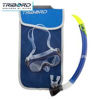 Original Tribord diving mask snorkel set for free diving scuba diving swimming snorkeling