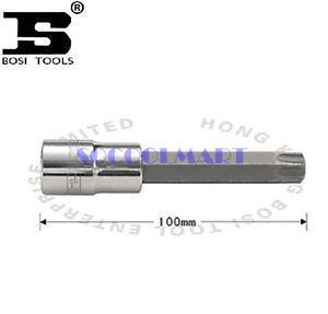 Довольно 1 шт. 100 мм с 1/2 - дюймовый T40 стали отверточными гнездо *