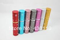 2014 Beautiful 5ML Small Pen Shape Aluminum Perfume Bottles 12PCS/LOT