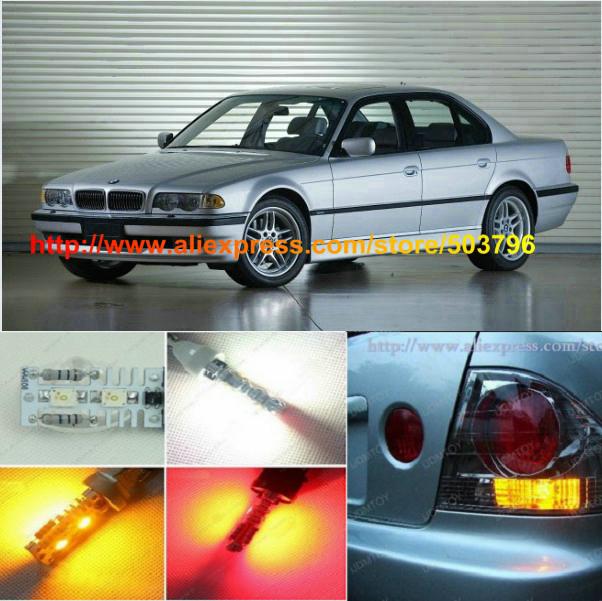 Free Shipping 2Pcs/Lot Superbright Osram 12v Car Led Parking Light Bulb For Bmw E38 1994-2001 740 750(China (Mainland))