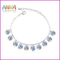 Free shipping New Charm Crystal Bracelet Made With Swarovski Elements  #105869