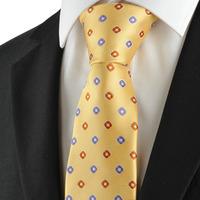 Free shipping Check Pattern Purple Golden Mens Tie Formal Necktie Wedding Holiday Gift