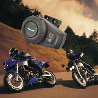 500M BT interphone Bluetooth Motorbike Motorcycle helmet intercom Headset For Motorcyclist and Skiers