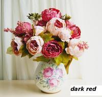 1 pc Boutique Home Decorative Artificial Peony Flowers Wedding Party Festival Decor