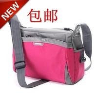 Color block 2014 shoulder bag mountaineering bag travel sports school bag cross-body bag