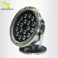 18w led underground light  ip68  Waterproof swimming pool light 1800lm RGB DC12V fountain stainless steel led outdoor lighting