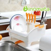 Inomata kitchen drain rack dishes rack shelf tableware storage rack dish rack