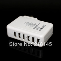 sales promotion - New product 5V6A 6USB Ports portable charger  For Galaxy S3 S4 Note 2 3 iPhone 4S 5 5S 5C iPad 3