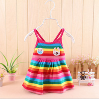baby girls summer vest dress children girls vest dress
