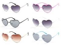 2014 Sunglasses Women Fashon Brand Designer Glasses Love Heart Style Vintage Oculos Outdoor Summer Retro Sun Glasses Shades