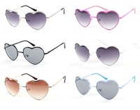 2015 Sunglasses Women Fashon Brand Designer Glasses Love Heart Style Vintage Oculos Outdoor Summer Retro Sun Glasses Shades