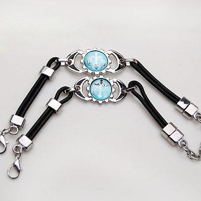 Blue Cross Bracelet fashion lovers jewelry transporter - - 358760(China (Mainland))