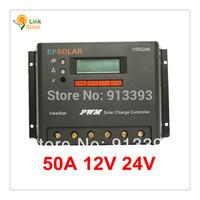 50A ViewStar VS5024N 12v 24V Auto EP PWM Solar Charge Controller