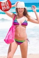Hot Sale 2014 Fashion Brand for woman Sexy bikini with PAD Hot swimsuits Ladies swimwear beachwear bikini set 22 color