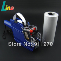 High Quality 2 line Price Label Labeller Gun Retail Store Pricing Tag Display with Ink + 10pcs Double Row Paper For MX-6600
