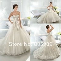Free shipping best selling custom-made any color Fashion Organza and Tulle  wedding dress SH01082
